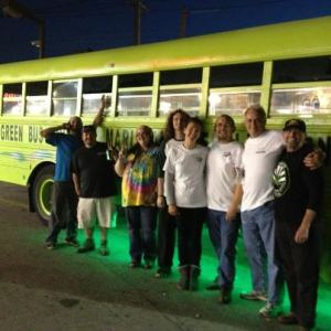 Green Bus Tour for Marijuana Legalization
