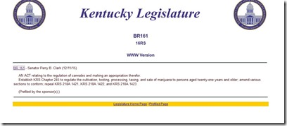 "If Kentucky wants to pass br 161 ""the Cannabis Freedom Act"", you must do this now... (3/5)"