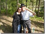 Sheree Krider with Gatewood Galbraith at Terrapin Farm
