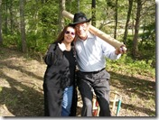 Sheree Krider with Gatewood Galbraith at Terrapin Farm